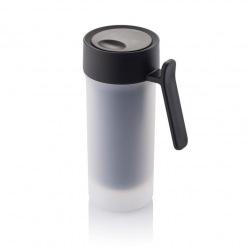 XD Design, Pop, cestovní hrnek, 275 ml, černá