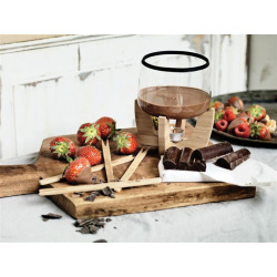 XD Design, Designový set na čokoládové fondue Cocoa pro 4 osoby