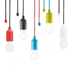 Loooqs, Designové LED svítidlo, P513.984 závěsné, červená
