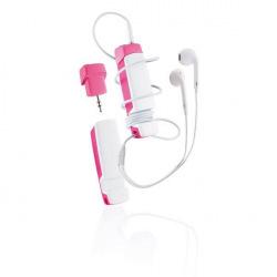Multifunkční audio příslušenství 4v1 Jam, XD Design, růžové