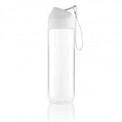 Sportovní láhev Neva, 450 ml, XD Design, čirá/bílá