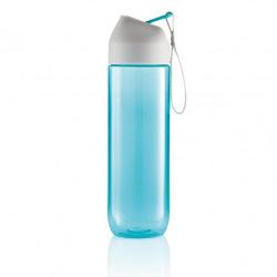Sportovní láhev Neva, 450 ml, XD Design, modrá/šedá