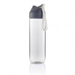 Sportovní láhev Neva, 450 ml, XD Design, čirá/šedá