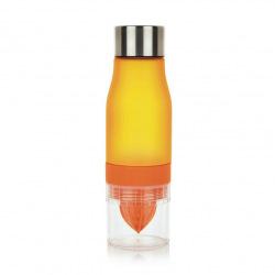 Loooqs, Láhev s lisem na citrusy, 650 ml, oranžová