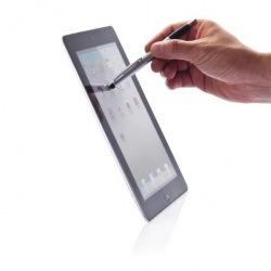 XD Design, Touch 2 in 1, kuličkové pero + stylus, stříbrná