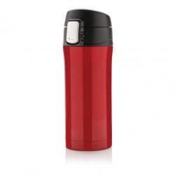 Uzamykatelný termohrnek Easy, 300 ml, Loooqs, červený
