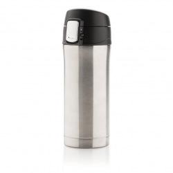 Uzamykatelný termohrnek Easy, 300 ml, Loooqs, stříbrný