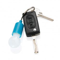 Loooqs, Designová klíčenka s LED osvětlením, modrá