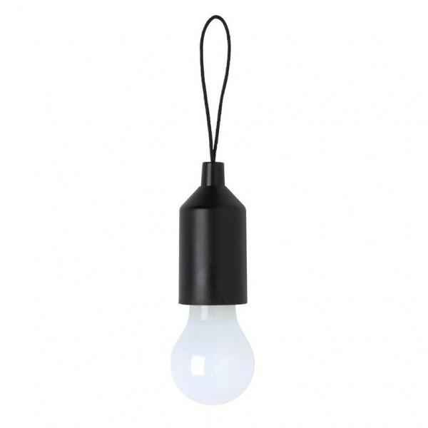 Loooqs, Designová klíčenka s LED osvětlením, černá