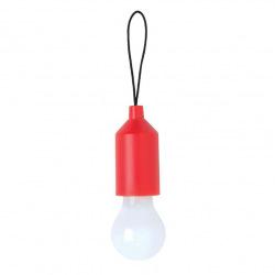 Závěsné LED světlo na klíče, Loooqs, červené