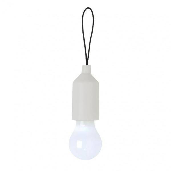 Loooqs, Designová klíčenka s LED osvětlením, bílá