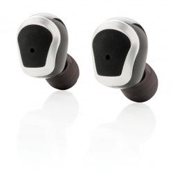 Bezdrátová sluchátka, Loooqs, černá/šedá