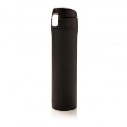 Uzamykatelná termoska Easy, 450 ml, Loooqs, černá