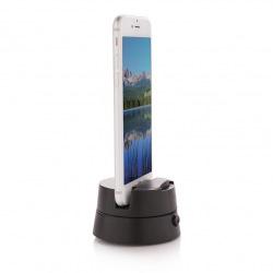 Loooqs, Panorama Twister, otočný stojan na telefon pro panoramatické fotografie, černá, P301.221