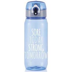 Sportovní láhev Today Tomorrow, 600 ml, Loooqs, modrá