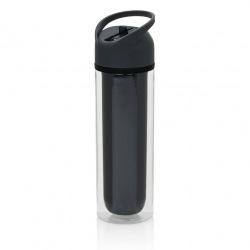 Láhev na vodu, 360 ml, Loooqs, šedá
