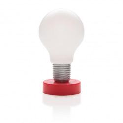 Stolní LED lampa bez potřeby elektrické energie, Loooqs, červená
