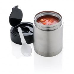 Vakuová nádoba na potraviny, Loooqs, stříbrná