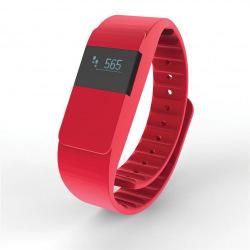 Loooqs, Fitness náramek Keep fit, P330.754, červená