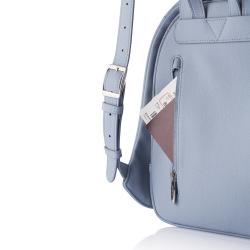 Dámský městský batoh, který nelze vykrást Bobby Elle, světle modrá
