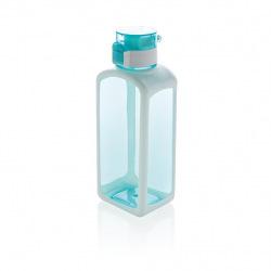 Uzamykatelná láhev s automatickým otevíráním, 600 ml, XD Xclusive, tyrkysová