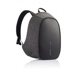 Dámský bezpečnostní batoh s alarmem a SOS sms lokací Elle Protective, XD Design, černý/šedý