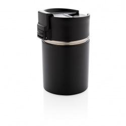 Keramický termohrnek Bogota, 220 ml, XD Xclusive, černý