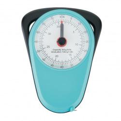 Retro analogová závěsná váha, Loooqs, modrá
