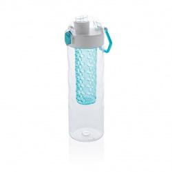 Uzamykatelná láhev s košíkem na ovoce HoneyComb, XD Design, 700 ml, modrá