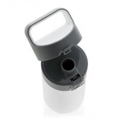 Uzamykatelná termoska, 450 ml, XD Design, bílá