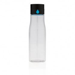 Aqua, tritanová láhev na vodu, transparent