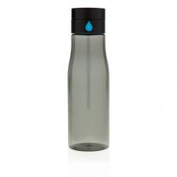 Láhev na sledování pitného režimu Aqua, černá