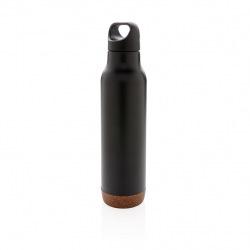 Termolahev Cork, 600 ml, XD Design, černá