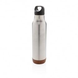 Termolahev Cork, 600 ml, XD Design, stříbrná