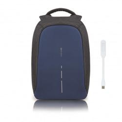 """Městský batoh, který nelze vykrást Bobby, 14"""", XD Design, tmavě modrý"""