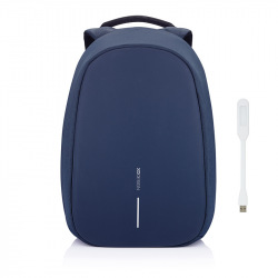 """Bezpečnostní batoh, který nelze vykrást Bobby Pro, 15.6"""", XD Design, modrý"""