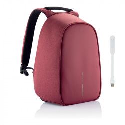 """Bezpečnostní batoh, který nelze vykrást Bobby Hero Regular 15.6"""", XD Design, červený"""