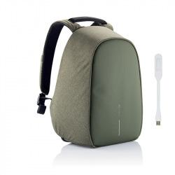 """Bezpečnostní batoh, který nelze vykrást Bobby Hero Regular 15.6"""", XD Design, zelený"""