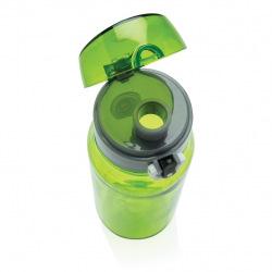 Láhev na vodu s uzamykatelným víčkem XL, 800 ml, XD Design, zelená