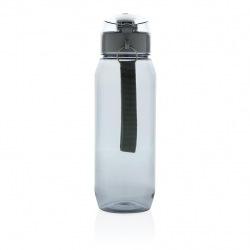 Láhev na vodu s uzamykatelným víčkem XL, 800 ml, XD Design, šedá