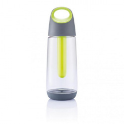 Chladící láhev Bopp Cool, 700 ml, XD Design, čirá/šedá/limetková